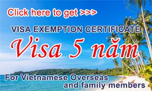 Visa | Embassy of the Socialist Republic of Vietnam in the